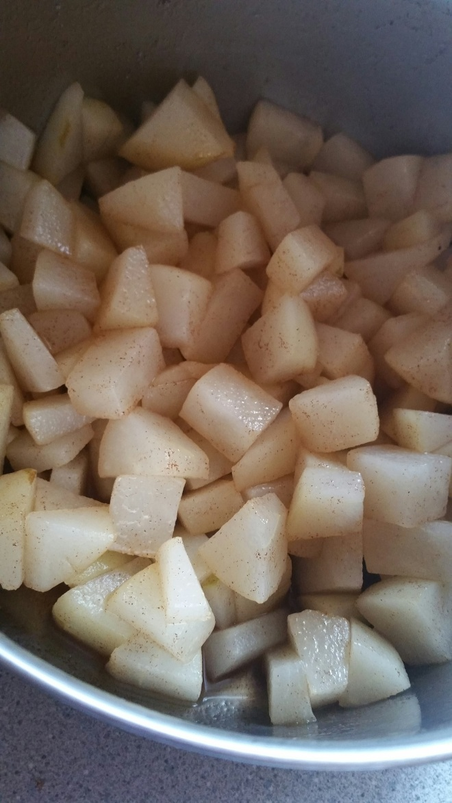 pear crumb cake 3