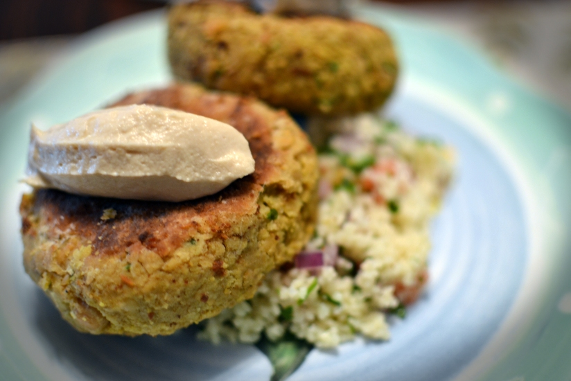 Lentil & Chickpea Patties